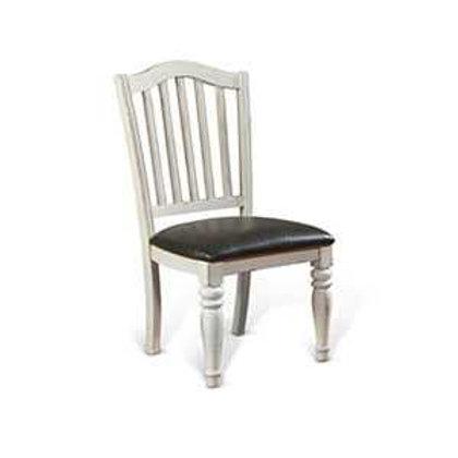 Abigail Slat-back Cushion Dining Chair