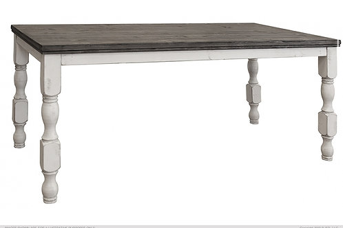 Skyler Fluted Counter Height Dining Table