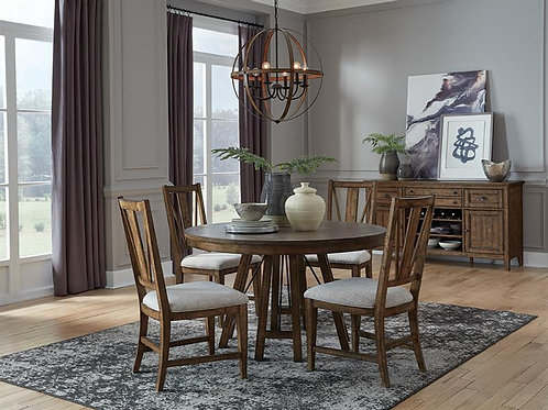 Helena Nutmeg Round Dining Collection