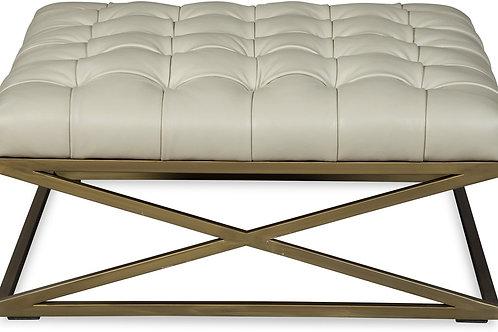 Malibu Leather Ottoman