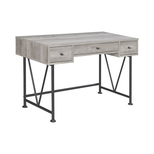 Elena Grey Desk (3 Drawer & 4 Drawer)