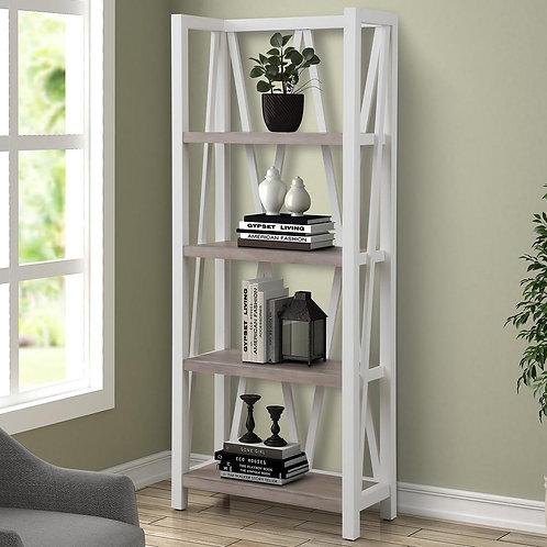 Amber White Bookcase