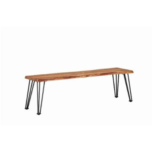 Rowan Live-Edge Bench