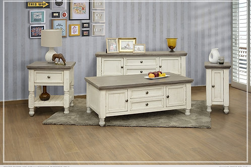 Skyler Drawer Occasional Table Set