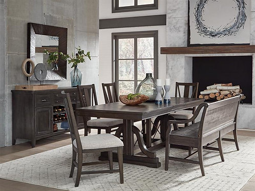 Helena Graphite Dining Collection