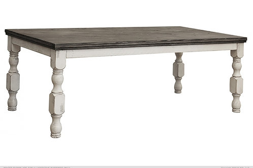 Skyler Fluted Leg Dining Table