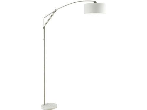 Adjustable Chrome Floor Lamp