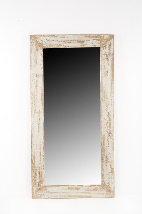Cozumel Antique Grey Leaner Mirror
