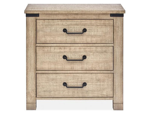 Sanibel 3 Drawer Nightstand