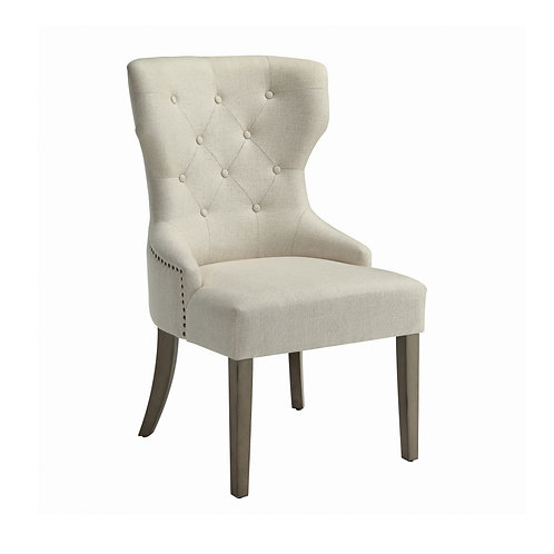 Farrah Cream Upholstered Chair