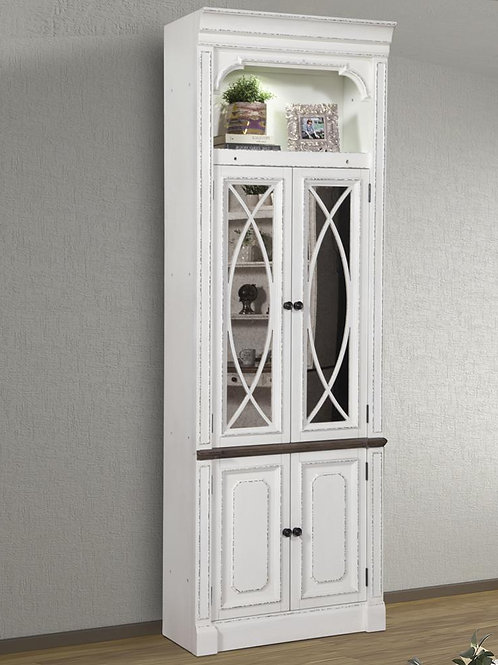 Preslee Glass Door Cabinet