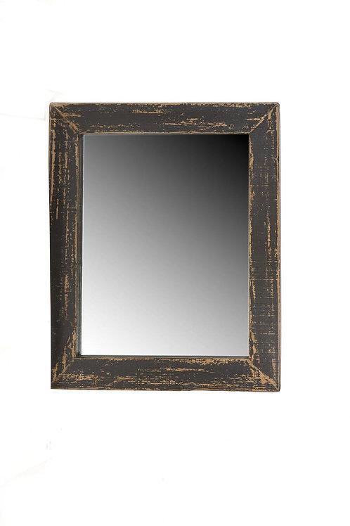 Cozumel Antique Black Wall Mirror