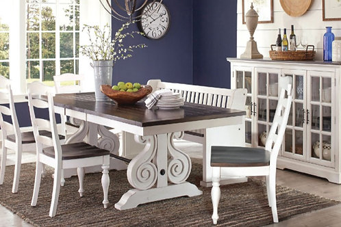 Abigail Trestle Dining Collection