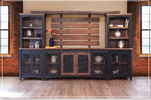 Stella Black Wall Unit