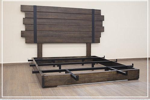Uriah Wood Bed