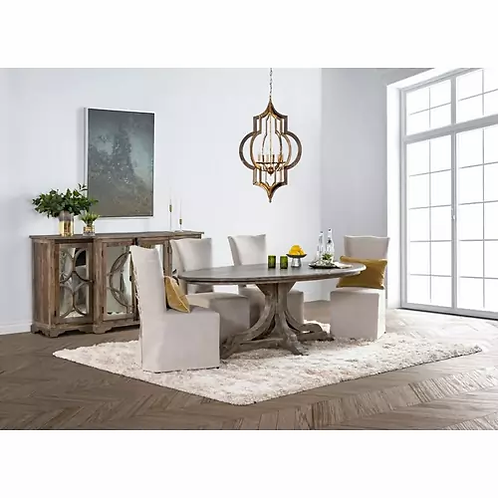 Arial Oval Dining Table