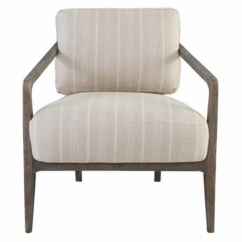 Fernando Striped Accent Chair