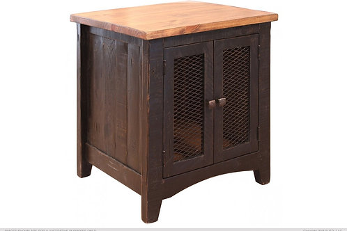 Stella Black Chair Side Table