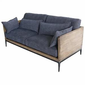 Ren Navy Sofa