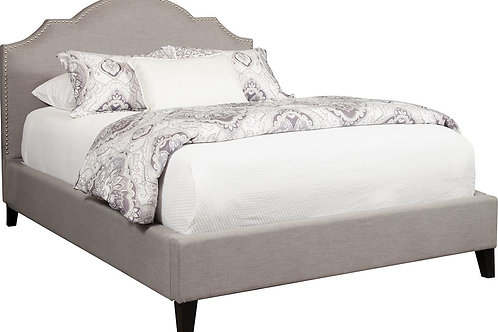Channing Grey Upholstered Bed