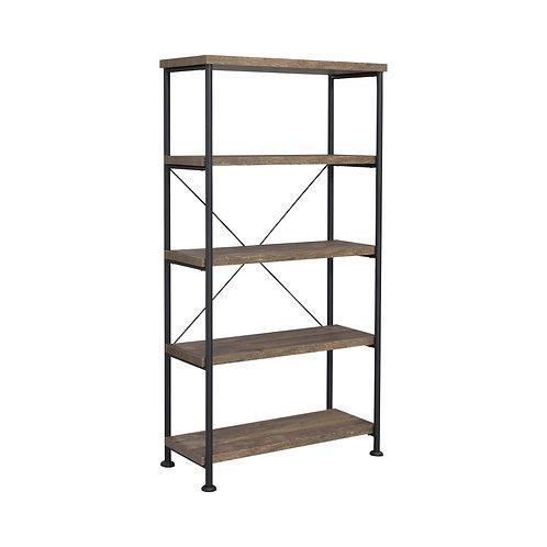 """Elena Rustic Oak Bookshelf (31.5"""" & 60"""")"""