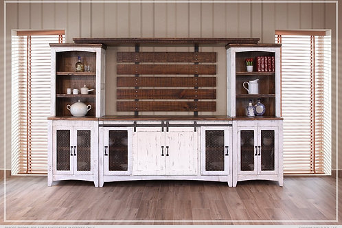 Stella White Wall Unit