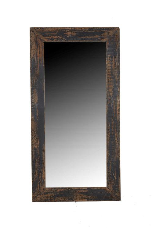 Cozumel Antique Black Leaner Mirror