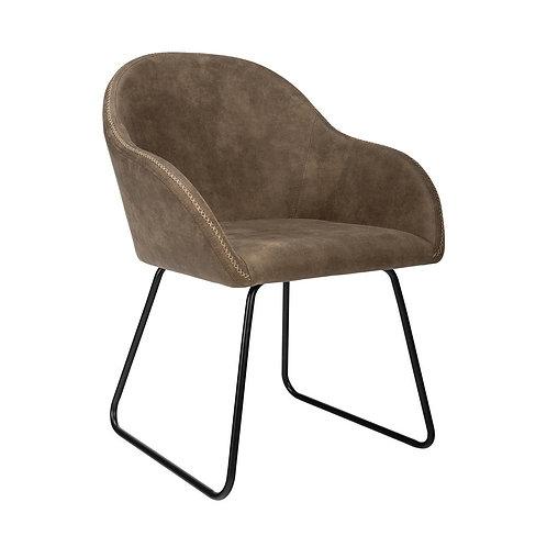 Maddox Grey Accent Chair
