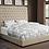 Thumbnail: Sophie Cream Upholstered Bed