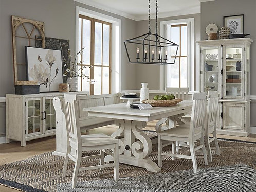 Boston White Dining Collection