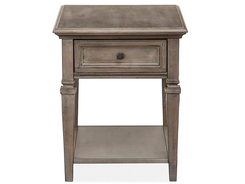 Boston Grey End Table