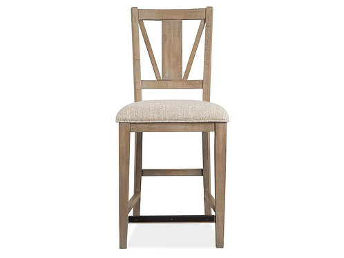 Helena Grey Counter Stool