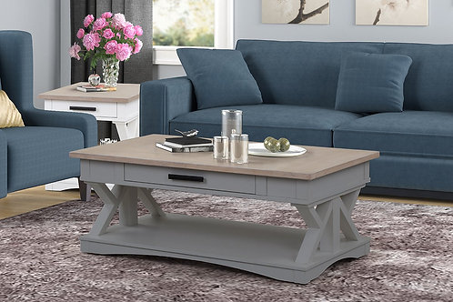 Amber Grey Coffee Table