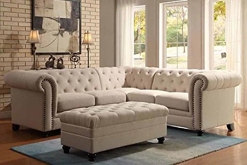 Rochelle Cream Sectional