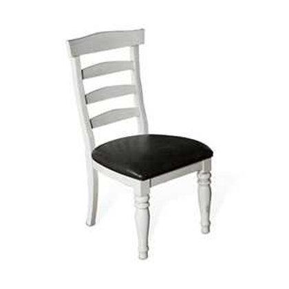Abigail Ladder-back Cushion Dining Chair