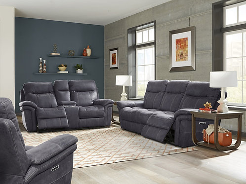 Maylee Charcoal Sofa Collection