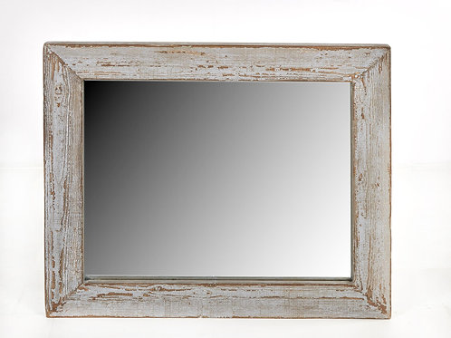 Cozumel Antique Grey Wall Mirror