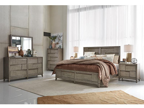 Moa Grey Bedroom Collection