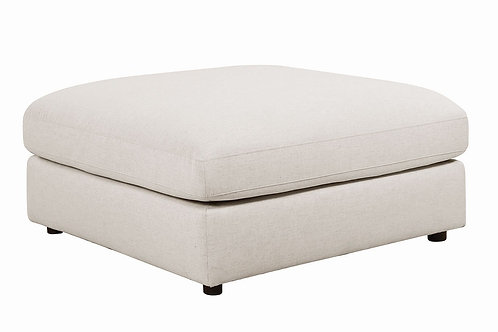 Serena Beige Ottoman