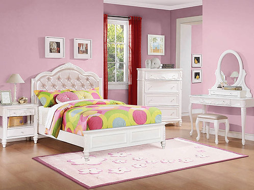 Avery White Bedroom Set