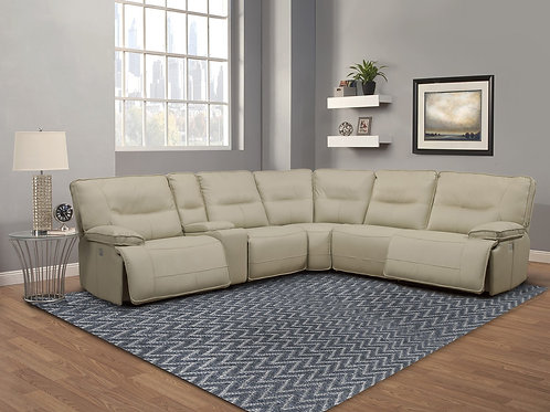 Spartan Oyster Reclining Sectional