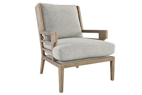 Rome Grey Accent Chair