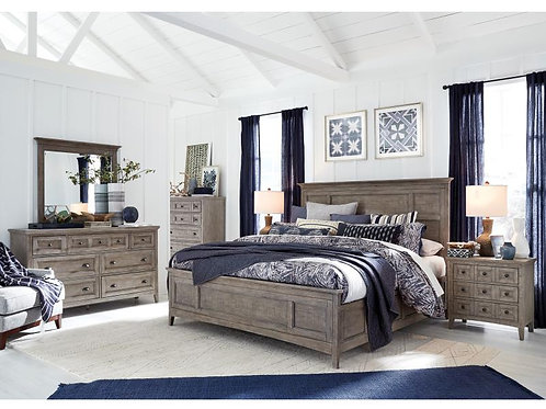 Helena Grey Bedroom Collection