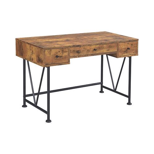 Elena Nutmeg Desk (3 Drawer & 4 Drawer)