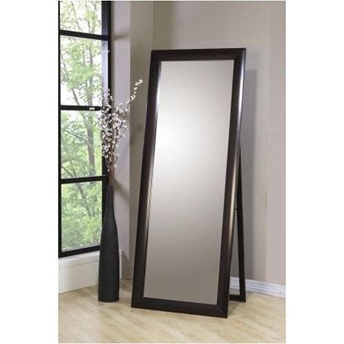 Rectangular Black Standing Mirror
