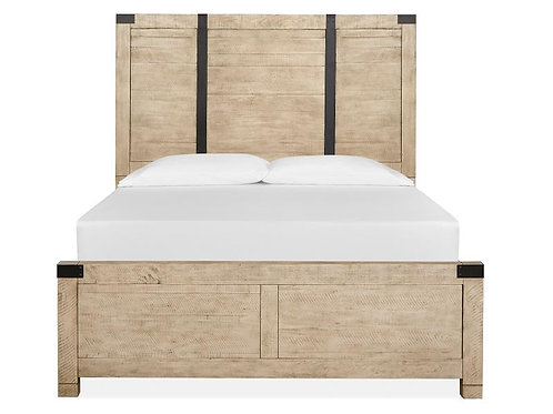Sanibel Wood Panel Bed