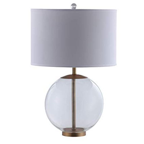 Gold and Clear Table Lamp
