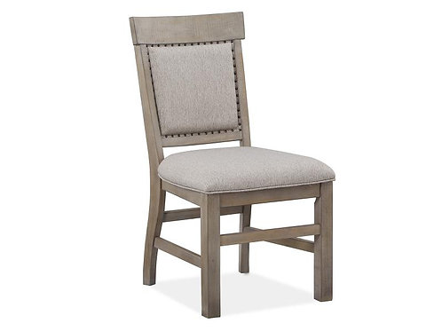 Boston Grey Upholstered Side Chair