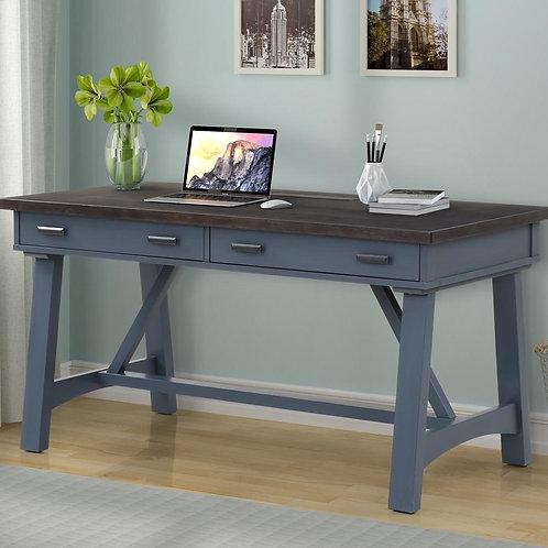 Amber Blue Desk