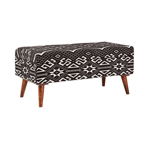 Aztec Upholstered Storage Bench